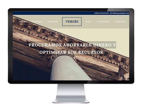 diseño web para abogados