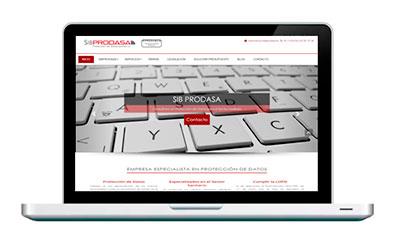 diseño web y marketing online para sib prodasa