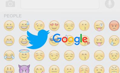 Emojis búsqueda Google en Twitter
