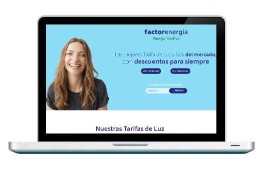 Diseño Web Factor Energia