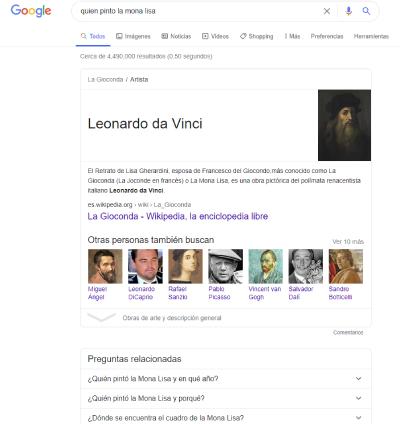 Leonardo da vinci resultado cero